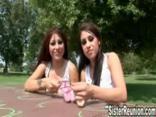 Porn Tube of Identical Blowjob Sisters Pt1
