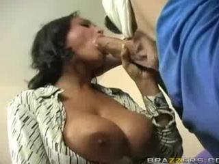 Porn Tube of Busty Indian Oral Sex!