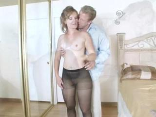 Porn Tube of Stunning Mom Fucked On Various Sex-positions