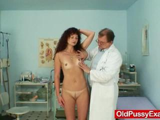 Porno Video of Milf Holds Pussy  Using The Bizarre Gyne Spreader