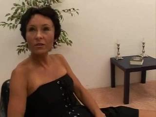 Porn Tube of Adventurous European Milf Is Insanely Fucked In The Asshole By One Big Pole