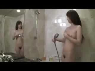 Porno Video of Asian Girl Washes And Squirts With Her Toy