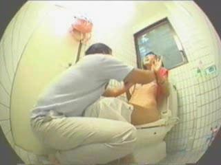 Porno Video of Japanese Couple Fuck In Toilet