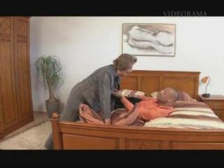 Porno Video of Grandma Martha Getting Jizzed On