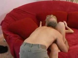 Porn Tube of Petite Blonde Seduces Her Mans Dad