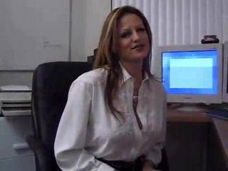 Porno Video of Big Boobs Mature Office Woman