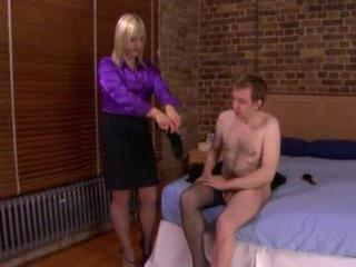 Porno Video of Mistress Humiliates Pretty Husband